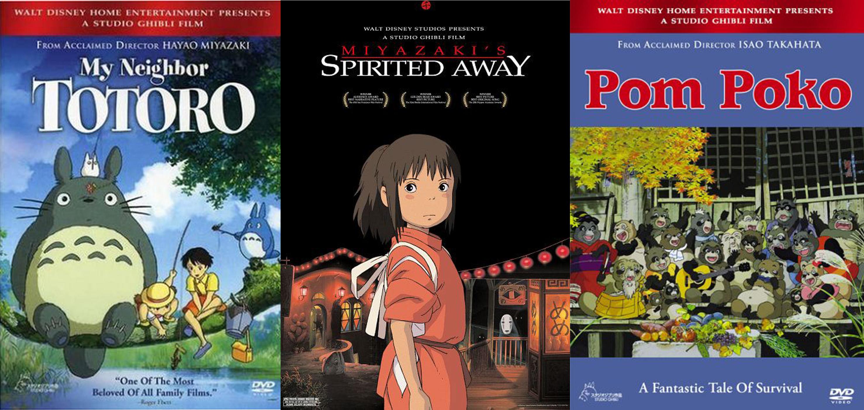 Le Studio d'animation Ghibli au musée d'Art Ludique à Paris.