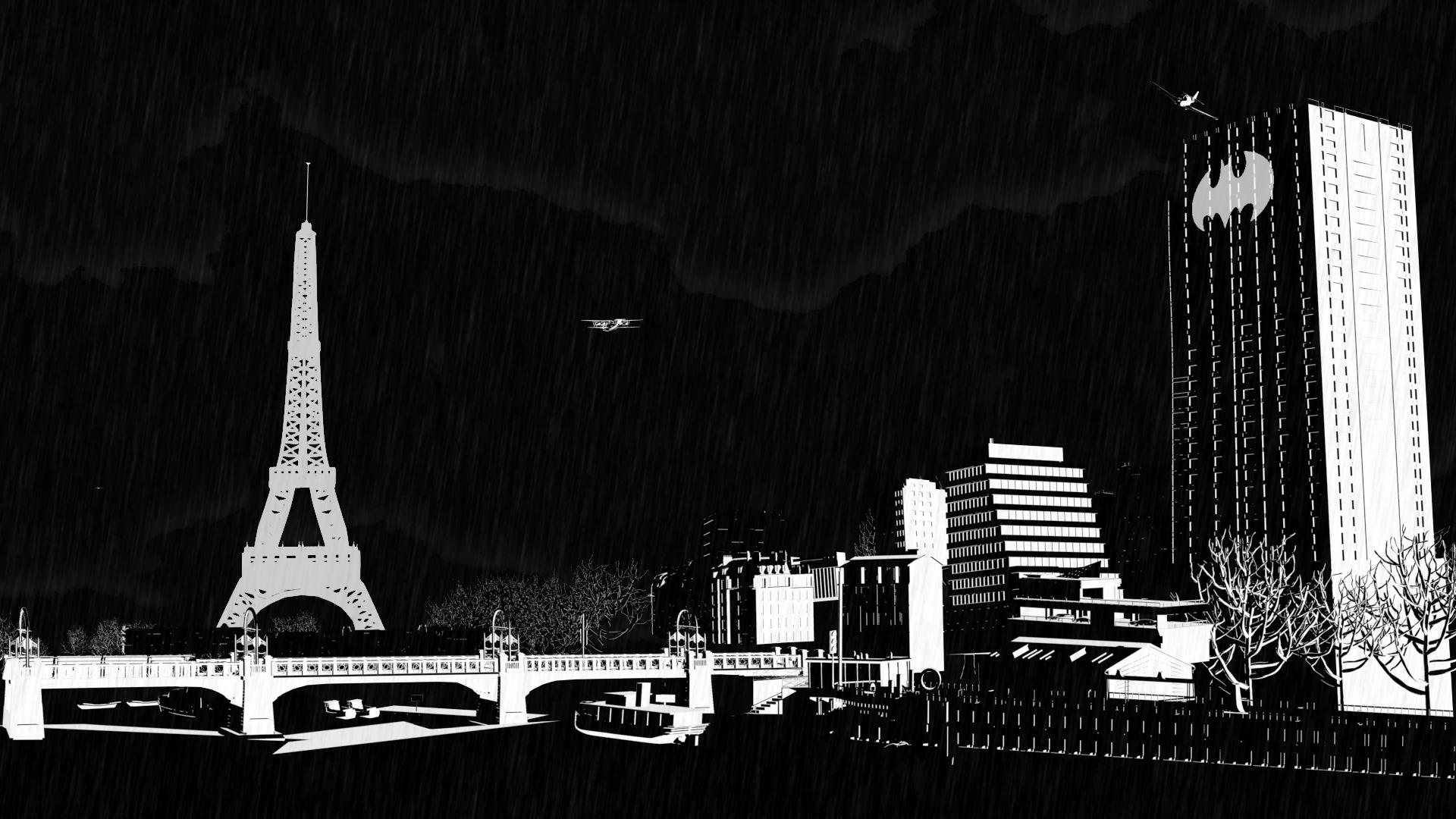 Paris par les élèves de 1ère année  2014/2015 de l'école 3D Studio Mercier