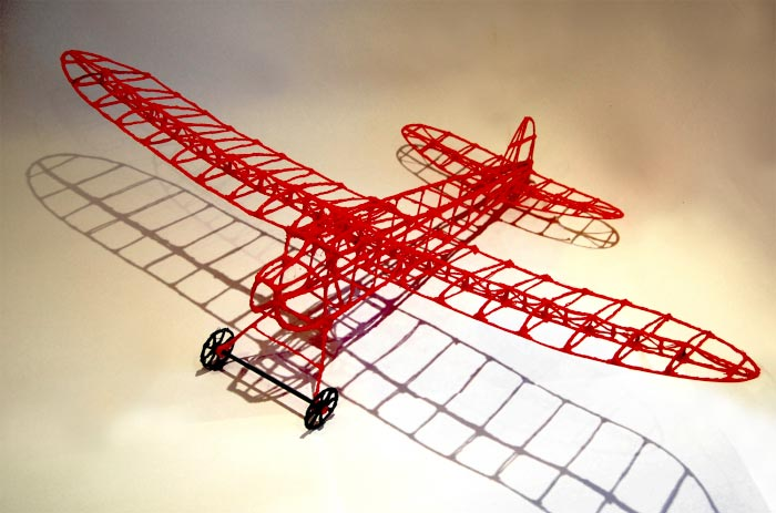 Avion stylo 3D