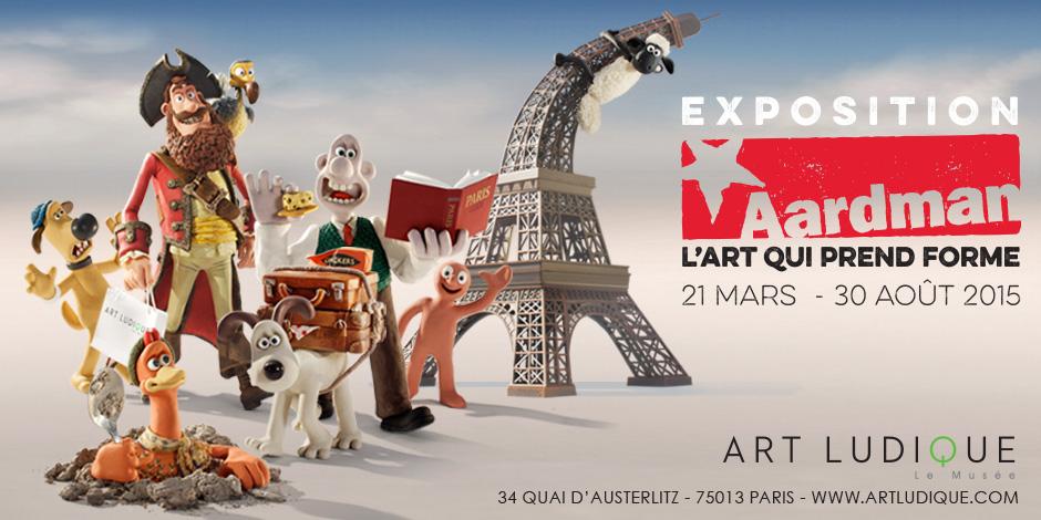 """Exposition """"Aarman, l'Art qui prend  forme"""" au musée Art Ludique"""