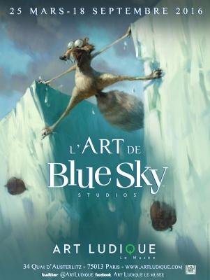 Blue Sky au Musée Art Ludique
