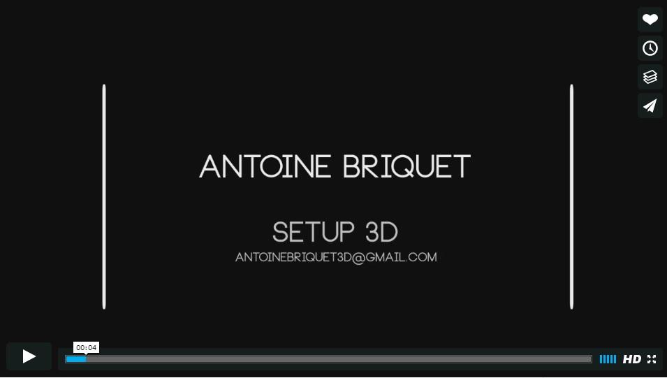 Démo Setup 3D Antoine Briquet