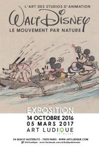 Exposition Walt Disney au musée d'Art Ludique