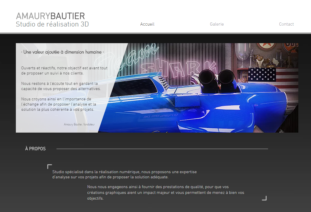Amaury Bautier Studio de Réalisation 3D
