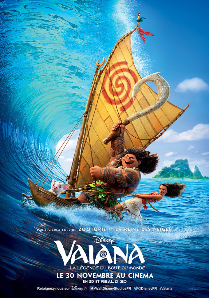Vaiana, la légende de bout du monde