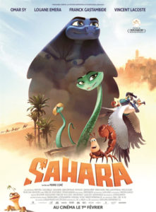 Sahara le film d'animation