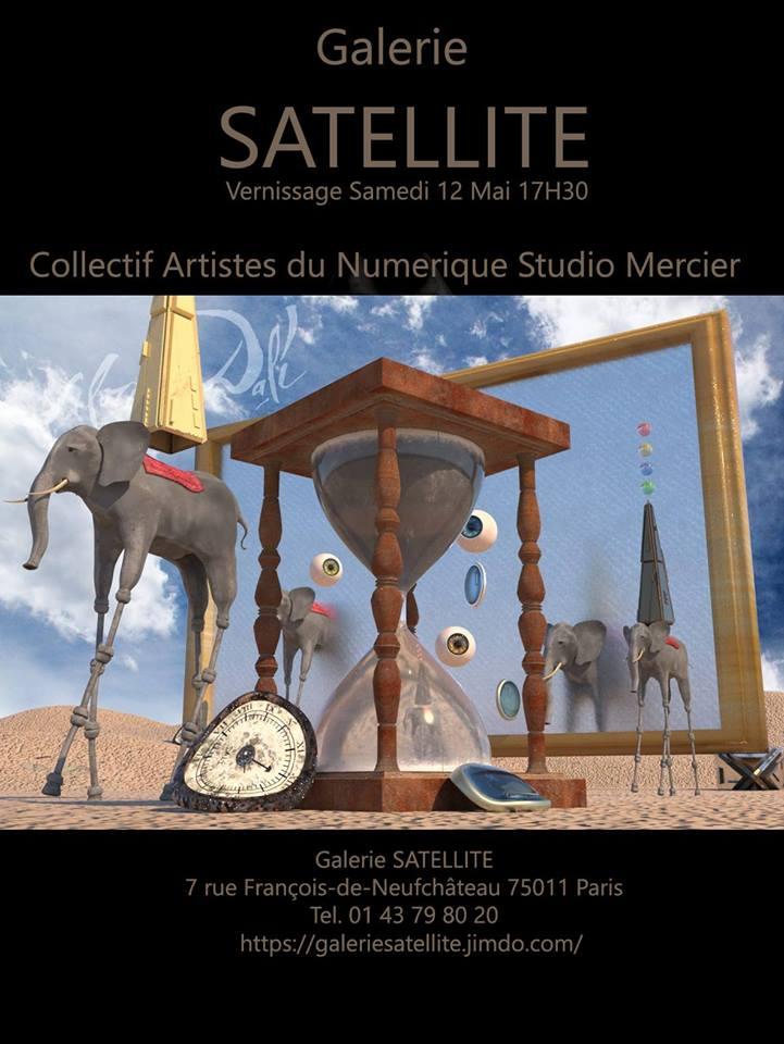 Exposition Galerie Satellite